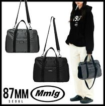 87MM Casual Style Unisex Street Style Totes