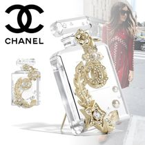 CHANEL Costume Jewelry Star Flower With Jewels Elegant Style