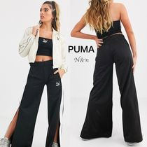 PUMA Street Style Plain Cotton Long Bottoms