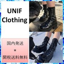 UNIF Clothing Plain Boots Boots