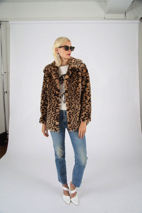 Dots Faux Fur Other Animal Patterns Eco Fur