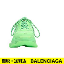 BALENCIAGA Triple S Street Style Leather Dad Sneakers Sneakers