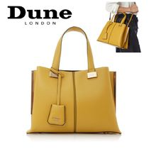 Dune LONDON 2WAY Plain Office Style Totes