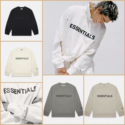 FEAR OF GOD ESSENTIALS Crew Neck Unisex Sweat Street Style Collaboration