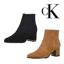 Calvin Klein Suede Ankle & Booties Boots