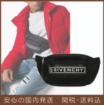 GIVENCHY Unisex Plain Hip Packs