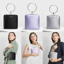 Charles&Keith Plain Party Style Elegant Style Party Bags