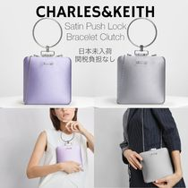 Charles&Keith Casual Style 2WAY Chain Plain Party Style Elegant Style
