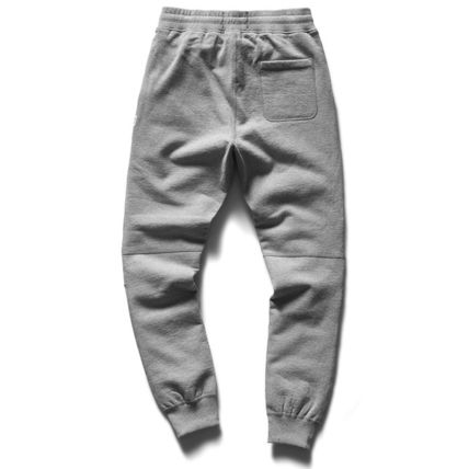 Unisex Sweat Plain Handmade Logo Pants