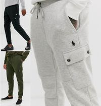 POLO RALPH LAUREN Street Style Plain Cotton Joggers & Sweatpants