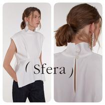 Sfera Plain Medium Party Style Elegant Style Shirts & Blouses