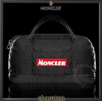 MONCLER Casual Style Unisex Nylon Bag in Bag A4 3WAY Bi-color Plain