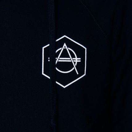 HEXAGON Hoodies Unisex Street Style Long Sleeves Cotton Hoodies 4