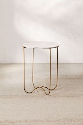 Gold Furniture Night Stands Home Desks Table & Chair