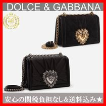 Dolce & Gabbana Casual Style Plain Shoulder Bags