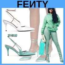 FENTY Casual Style Street Style Plain Pointed Toe Pumps & Mules