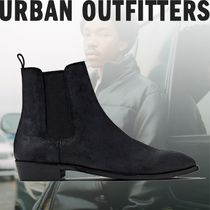 Urban Outfitters Unisex Suede Plain Chelsea Boots Chelsea Boots