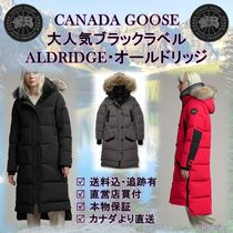 CANADA GOOSE Fur Plain Down Jackets