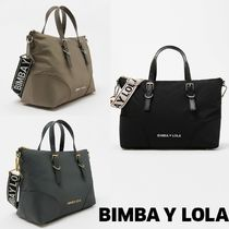 bimba & lola Casual Style Plain Handbags