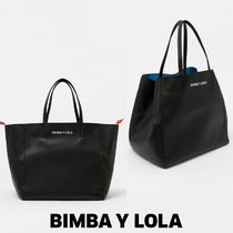 bimba & lola Plain Leather Totes