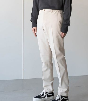 Cropped Corduroy Street Style Plain Oversized Cropped Pants 2