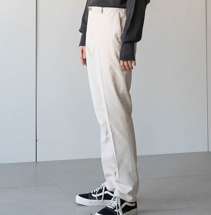 Cropped Corduroy Street Style Plain Oversized Cropped Pants 3