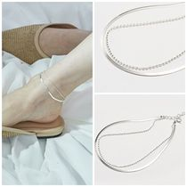 Hei Casual Style Party Style Silver Office Style Elegant Style