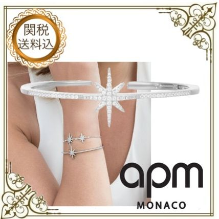 Bangles Costume Jewelry Star Silver Elegant Style Bracelets
