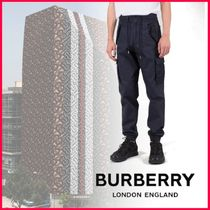 Burberry Tapered Pants Plain Cotton Tapered Pants