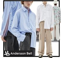 ANDERSSON BELL Casual Style Unisex Street Style Shirts & Blouses