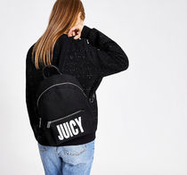 JUICY COUTURE Casual Style Plain Backpacks