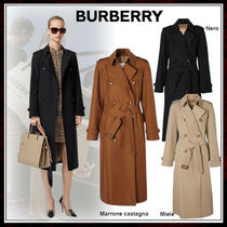 Burberry Casual Style Nylon Street Style Chain Plain Long
