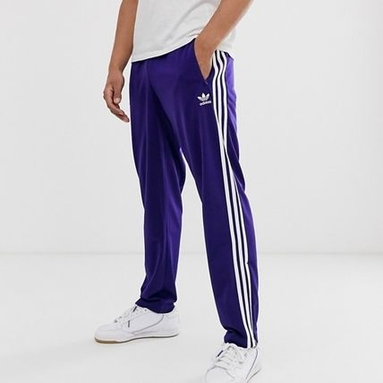 new products multiple colors sneakers adidas 2019-20AW Stripes Street Style Plain Joggers & Sweatpants