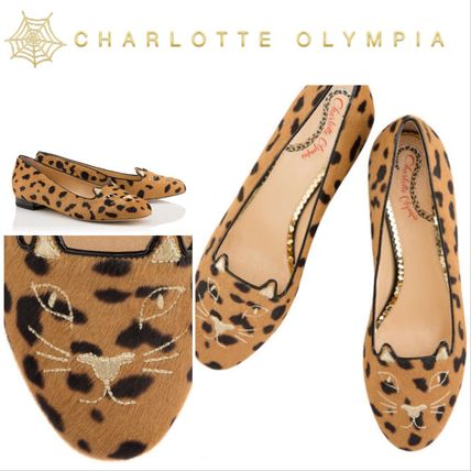 Leopard Patterns Platform Elegant Style Espadrille Shoes