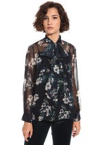 Diffusione Tessile Flower Patterns Casual Style Silk Party Style Office Style