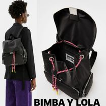bimba & lola Casual Style Plain Backpacks