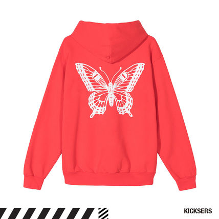 Girls Don't Cry Hoodies Pullovers Unisex Street Style Long Sleeves Cotton Oversized