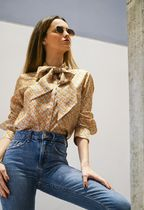 Burberry Casual Style Street Style Elegant Style Shirts & Blouses