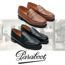 Paraboot Loafers Plain Leather U Tips Loafers & Slip-ons