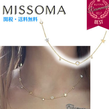 Star Chain Party Style 18K Gold Elegant Style