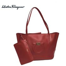 Salvatore Ferragamo Leather Totes