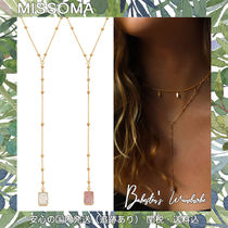 MISSOMA Casual Style Party Style Silver 18K Gold Office Style