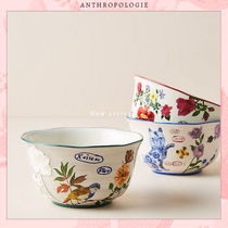 Anthropologie Blended Fabrics Street Style Collaboration Plates