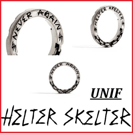 Casual Style Unisex Street Style Pinkie Ring Rings