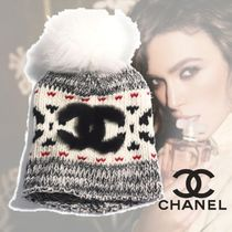CHANEL Blended Fabrics Street Style Keychains & Bag Charms
