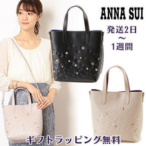 ANNA SUI Star Casual Style Studded 2WAY Totes