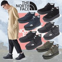 THE NORTH FACE Nuptse Unisex Plain Shoes