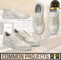 Common Projects Street Style Low-Top Sneakers