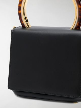 MARNI Shoulder Bags Plain Leather Shoulder Bags 9