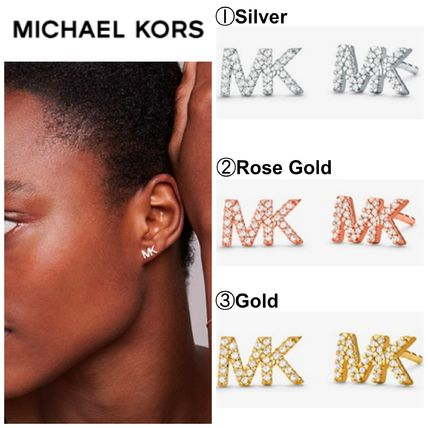 Casual Style Initial Silver 14K Gold Elegant Style